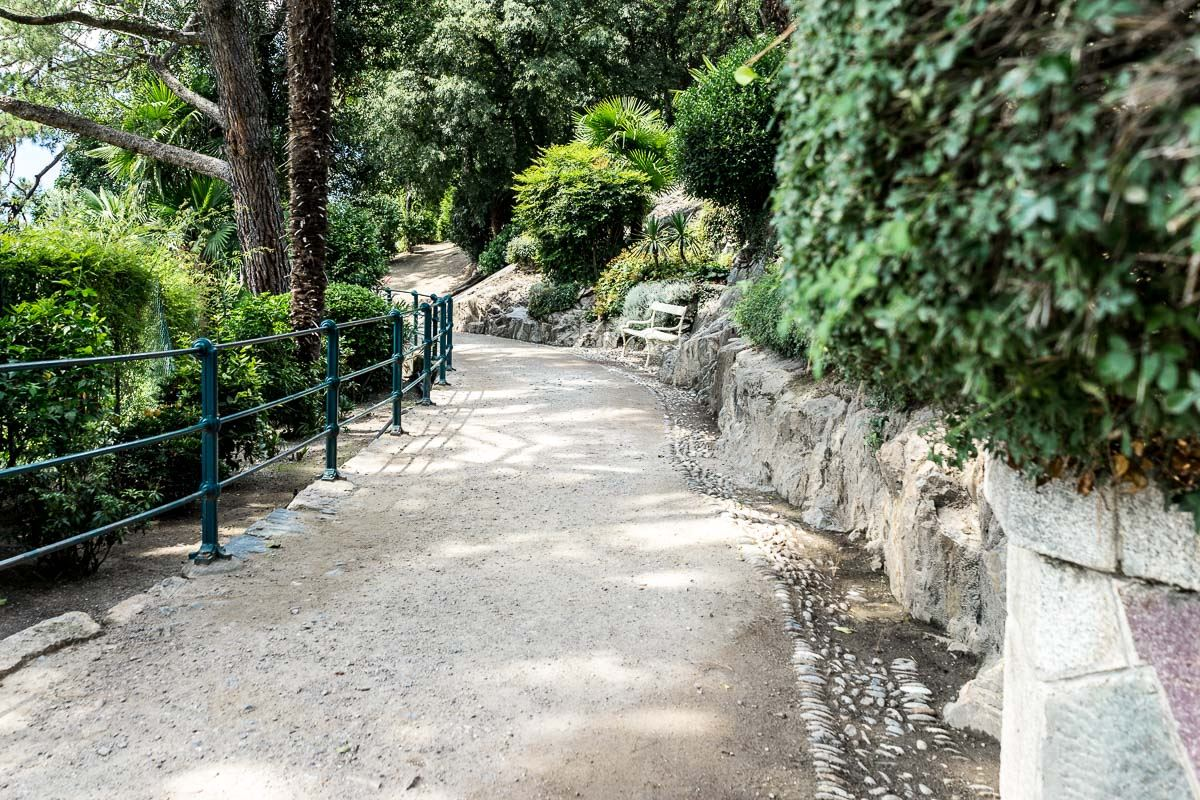 Walking paths in Merano