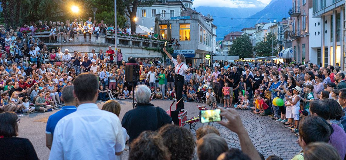 The most important events in Merano